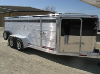 Showmaster Low Profile Small Livestock Trailers - BPLP4V 30B
