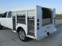 Enclosed Models Service Truck Bodies - SBE 34A
