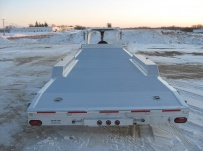 Gooseneck Low Profile Heavy Equipment Flatbed Trailers -  GNLPF 21A