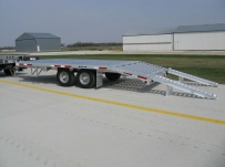 Bumper Pull Heavy Equipment Flatbed Trailers - BPF 18