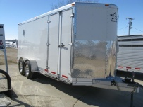 Bumper Pull Enclosed Cargo Trailers - BPDF 34
