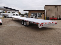 Gooseneck Heavy Equipment Flatbed Trailers - GNF 72A