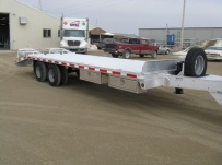 Bumper Pull Heavy Equipment Flatbed Trailers - BPF 13B