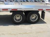 Gooseneck Heavy Equipment Flatbed Trailers - GNF 68A