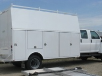 Enclosed Models Service Truck Bodies - SBE 25