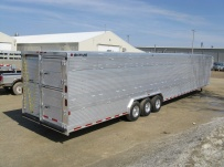 Commercial Double Deck Livestock Trailers - GNDD 24B