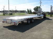 Gooseneck Heavy Equipment Flatbed Trailers - GNF 54