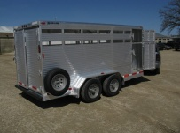 Showmaster Full Height Small Livestock Trailers - BPSM 20B