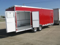 Bumper Pull Enclosed Cargo Trailers - BPDF 38