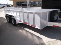 Open Utility Heavy Duty Utility Trailers - BPU 49