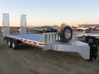 Bumper Pull Heavy Equipment Skid Loader Trailer - SKL 24A