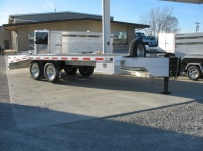 Bumper Pull Heavy Equipment Flatbed Trailers - BPF 9A
