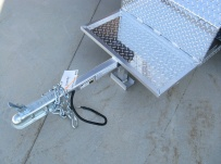 Enclosed Motorcycle Trailer Pull Behind Tote - CYCLE 11A