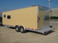 Bumper Pull Enclosed Cargo Trailers - BPDF 22A