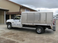 Enclosed Models Service Truck Bodies - SBE 32