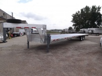 Gooseneck Heavy Equipment Flatbed Trailers - GNF 72B
