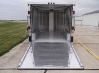 Bumper Pull Automotive All Aluminum Enclosed Trailers - BPA 57A