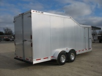 Bumper Pull Automotive All Aluminum Enclosed Trailers - BPA 26B