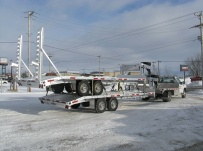 Gooseneck Heavy Equipment Flatbed Trailers - GNF 55
