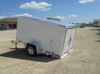 Dual Line Enclosed Cargo Trailers - DLENC 7A