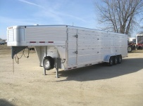 Commercial Double Deck Livestock Trailers - GNDD 32