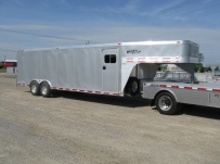 Gooseneck Automotive All Aluminum Enclosed Trailers - GNA 19B