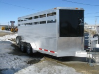 Showmaster Full Height Small Livestock Trailers - BPSM 24