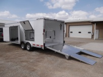 Bumper Pull Automotive All Aluminum Enclosed Trailers - BPA 58A