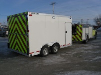 Bumper Pull Enclosed Cargo Trailers - BPDF 46