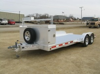 Bumper Pull Open Automotive Aluminum Trailers - BPOC 14A