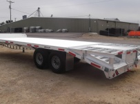 Bumper Pull Heavy Equipment Flatbed Trailers - BPF 29A