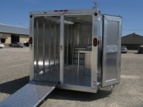 Bumper Pull Enclosed Cargo Trailers - BPDF 28