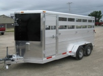 Showmaster Full Height Small Livestock Trailers - BPSM 22