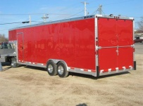 Gooseneck Automotive All Aluminum Enclosed Trailers - GNA 30