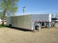 Commercial Double Deck Livestock Trailers - GNDD 25