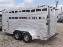 Commercial Bumper Pull Livestock Trailers - BPL 21