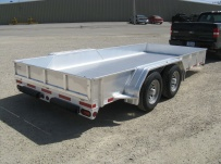 Open Utility Heavy Duty Utility Trailers - BPU 38A
