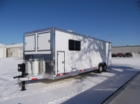 Bumper Pull Enclosed Cargo Trailers - BPDF 62A