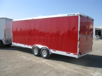 Bumper Pull Automotive All Aluminum Enclosed Trailers - BPA 39