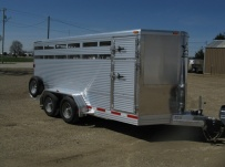 Showmaster Full Height Small Livestock Trailers - BPSM 20A