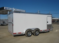 Bumper Pull Automotive All Aluminum Enclosed Trailers - BPA 45