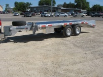 Bumper Pull Heavy Equipment Flatbed Trailers - BPF 20