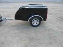 Enclosed Motorcycle Trailer Pull Behind Tote - CYCLE 34E