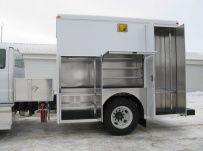 Enclosed Models Service Truck Bodies - SBE 22B