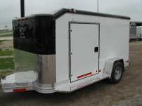 Bumper Pull Enclosed Cargo Trailers - BPDF 52B