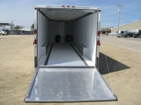 Bumper Pull Automotive All Aluminum Enclosed Trailers - BPA 38A