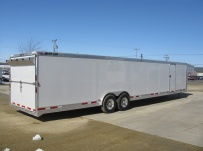 Gooseneck Automotive All Aluminum Enclosed Trailers - GNA 28