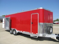 Bumper Pull Enclosed Cargo Trailers - BPDF 39