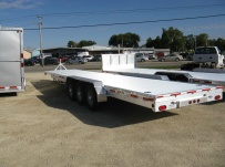 Bumper Pull Heavy Equipment Flatbed Trailers - BPF 23