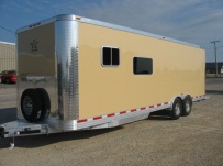 Bumper Pull Enclosed Cargo Trailers - BPDF 22B